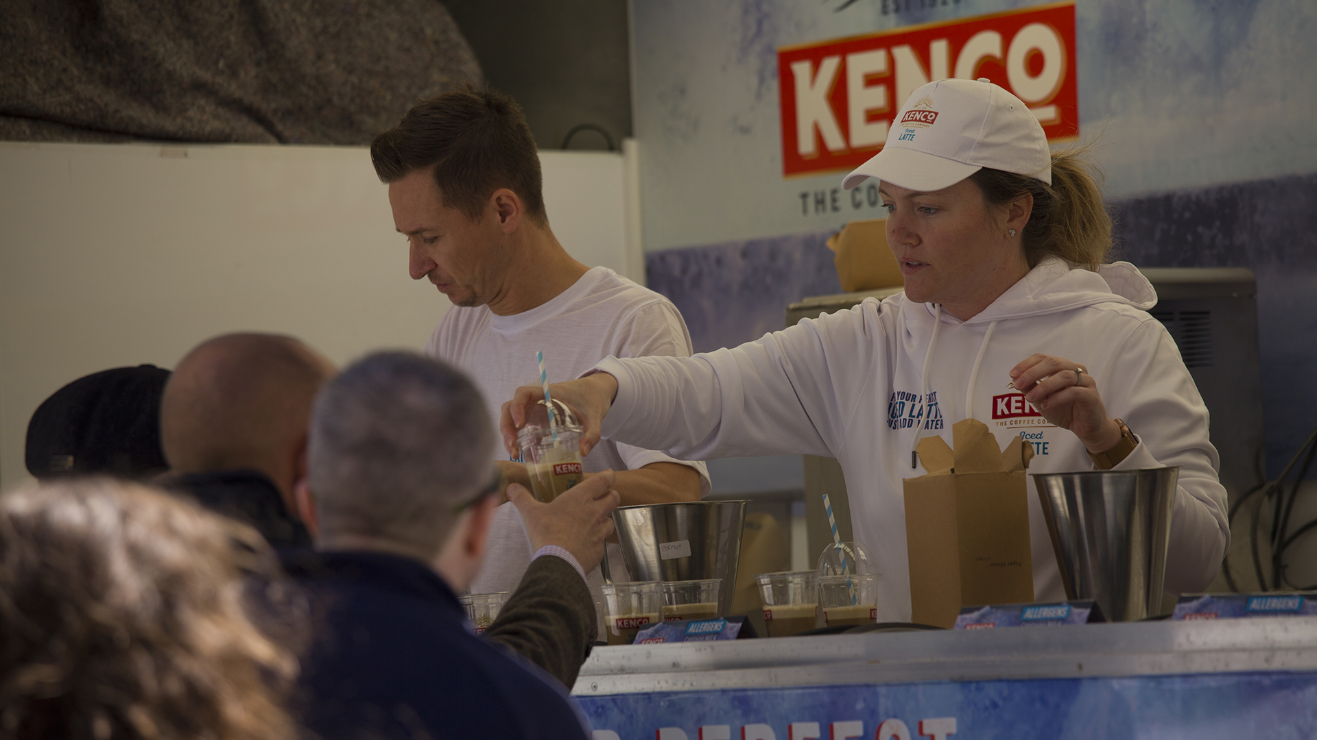 Kenco Iced Latte Sampling